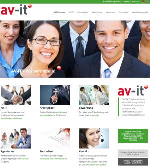 Website von av-it.ch